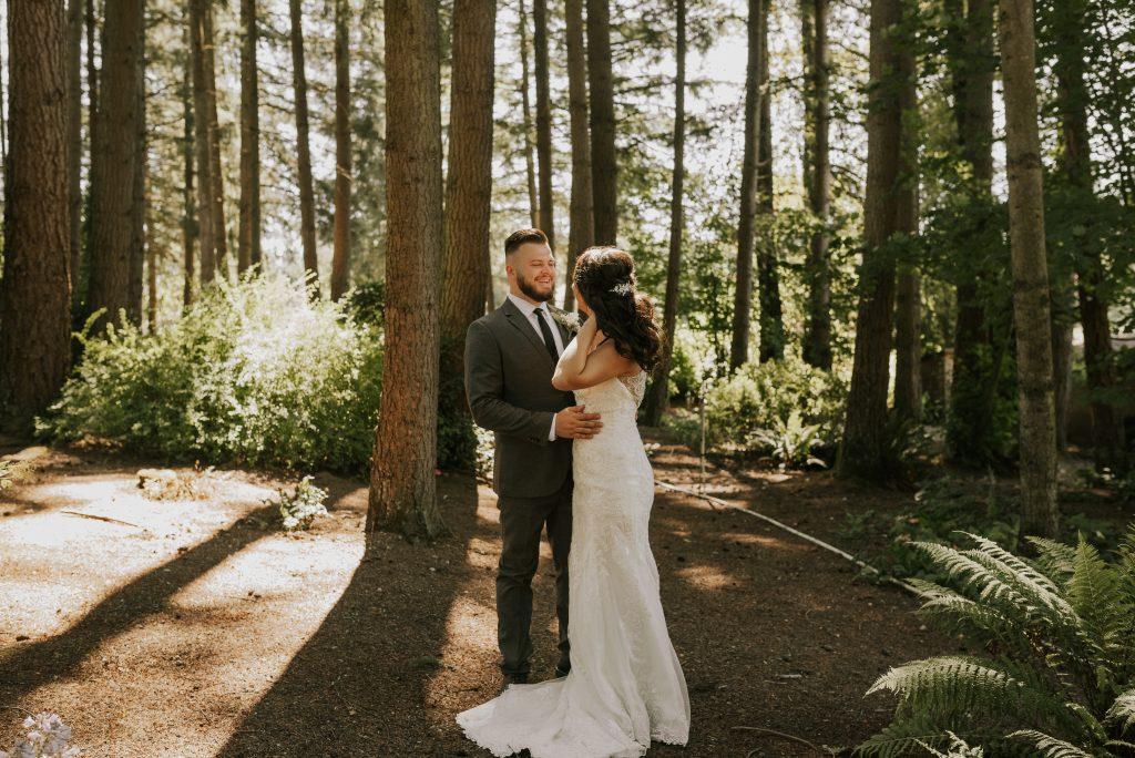 Backyard Wedding in Washington