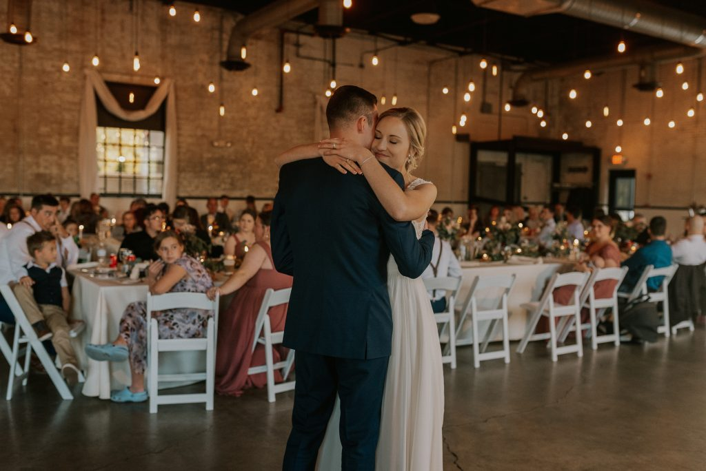 First Dance at The Brick